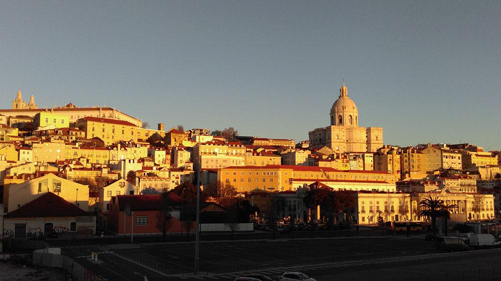 Dawn Light, Lisbon