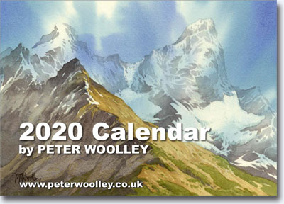 2020 Calendar featuring paintings by Peter Woolley