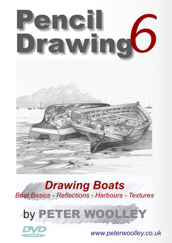 Peter Woolley Drawing Boats DVD and Video on Demand